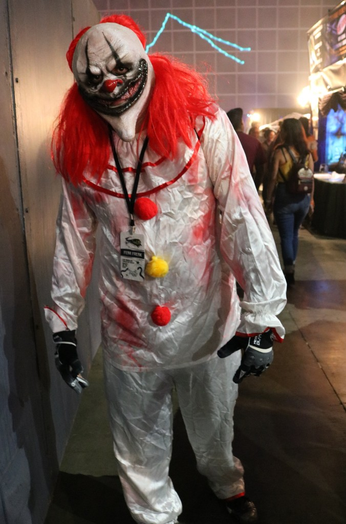 ScareLA 2018 horror clown