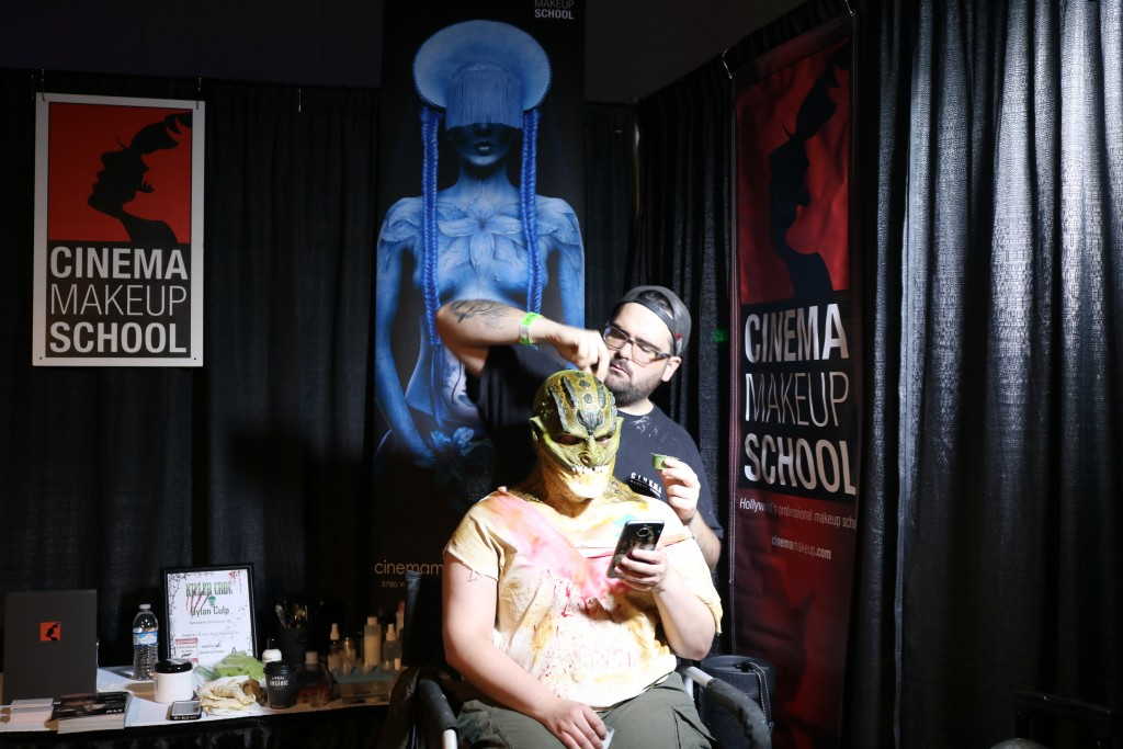 ScareLA 2018 cinema makeup school