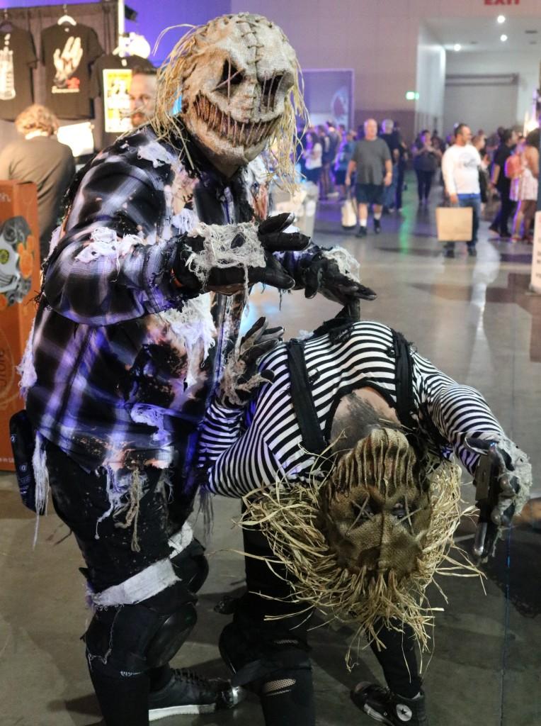 ScareLA scarecrows