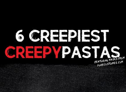 Infographic: Creepiest Creepypastas - Pure Costumes Blog