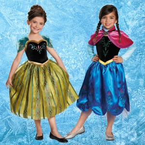 frozen-anna-costumes Children's Costume Ideas Disney Princesses