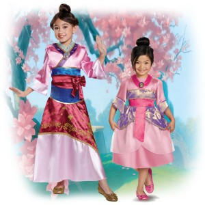 mulan-costumes Children's Costume Ideas Disney Princesses