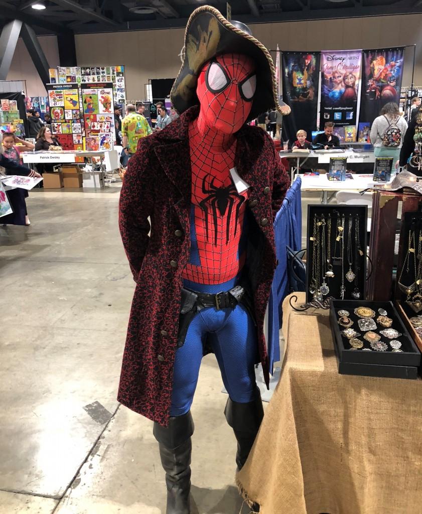 Long Beach Comic Expo 2019 Cosplay Recap Spider Man Pirate