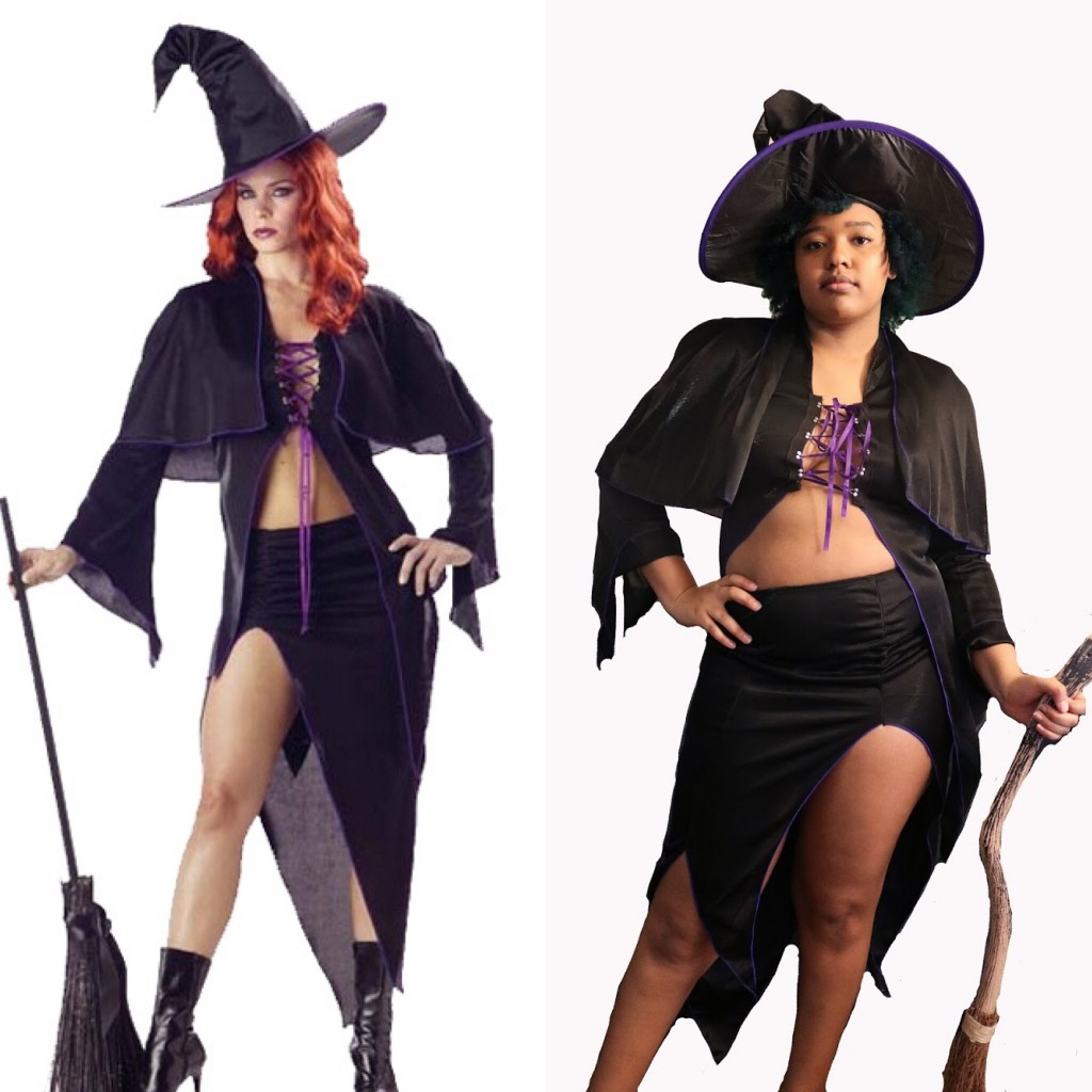 Costume Upcycle Spellbound Witch Adult Costume
