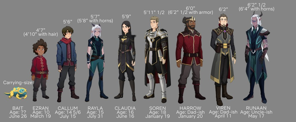 Popular Cosplays for 2019's Con Season the dragon prince