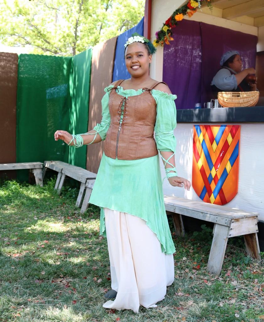 DIY Disney Princess Renaissance Tiana Costume