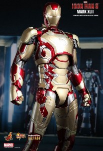 Avengers Suits Changes iron man mark 42