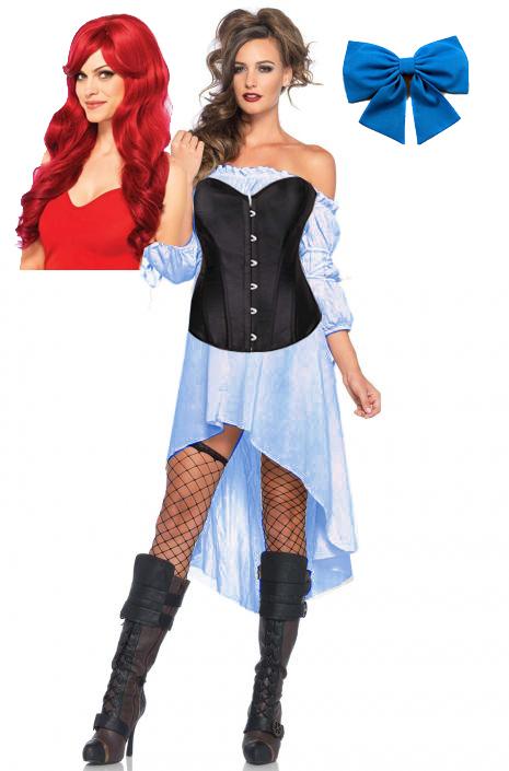 DIY Renaissance Ariel Costume