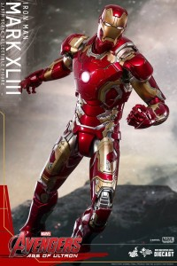 Avengers Suits Changes iron man mark 43