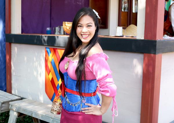 DIY Renaissance Mulan costume