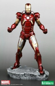 Avengers Suits Changes iron man marck vii