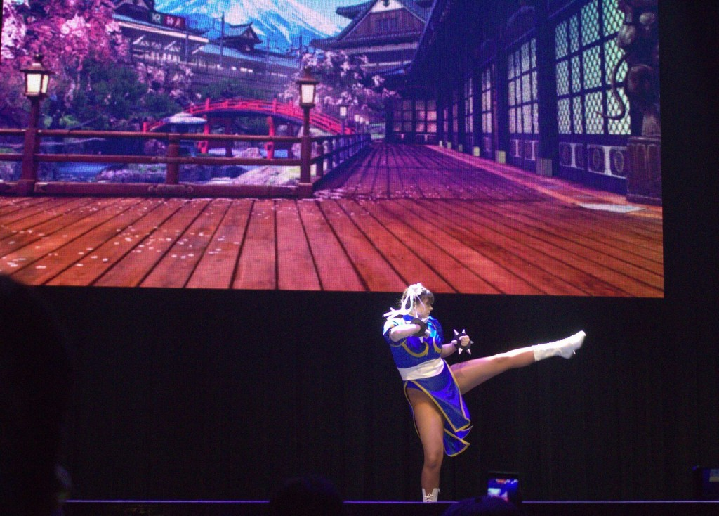 Anime Expo Street Fighter Ultimate Cosplay Showdown Chun Li