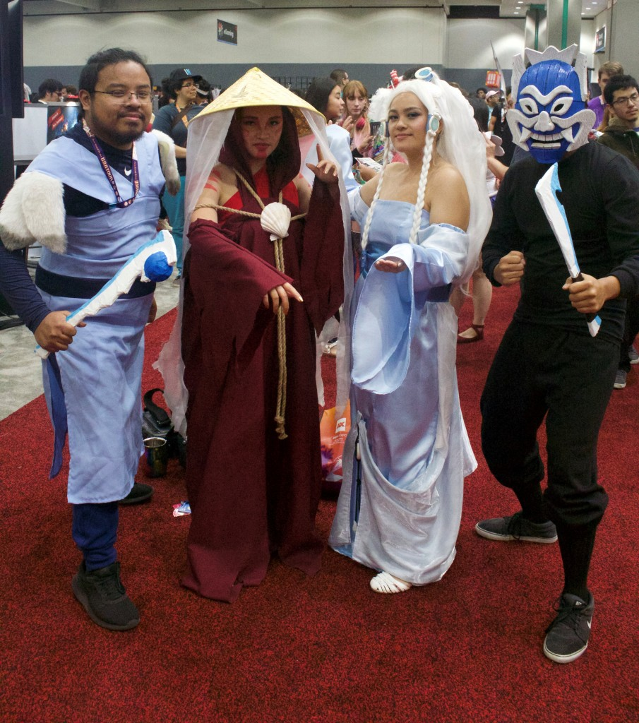 Anime Expo 2019 Cosplay Recap Sokka, Painted Lady, Princess Yue and Blue Spirit Avatar the Last Airbender