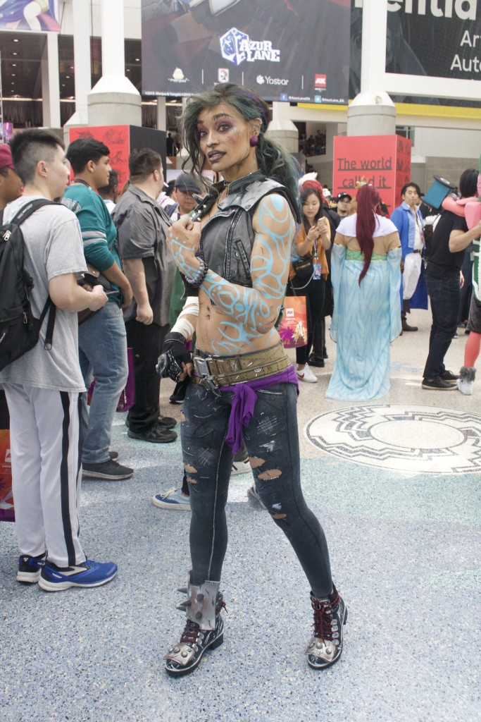 Anime Expo 2019 Cosplay Recap Amara from Borderlands