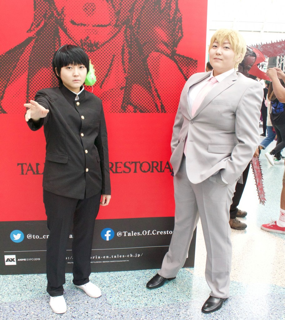 Anime Expo 2019 Cosplay Recap Shigeo Kageyama and Arataka Reigen from Mob Psycho 100