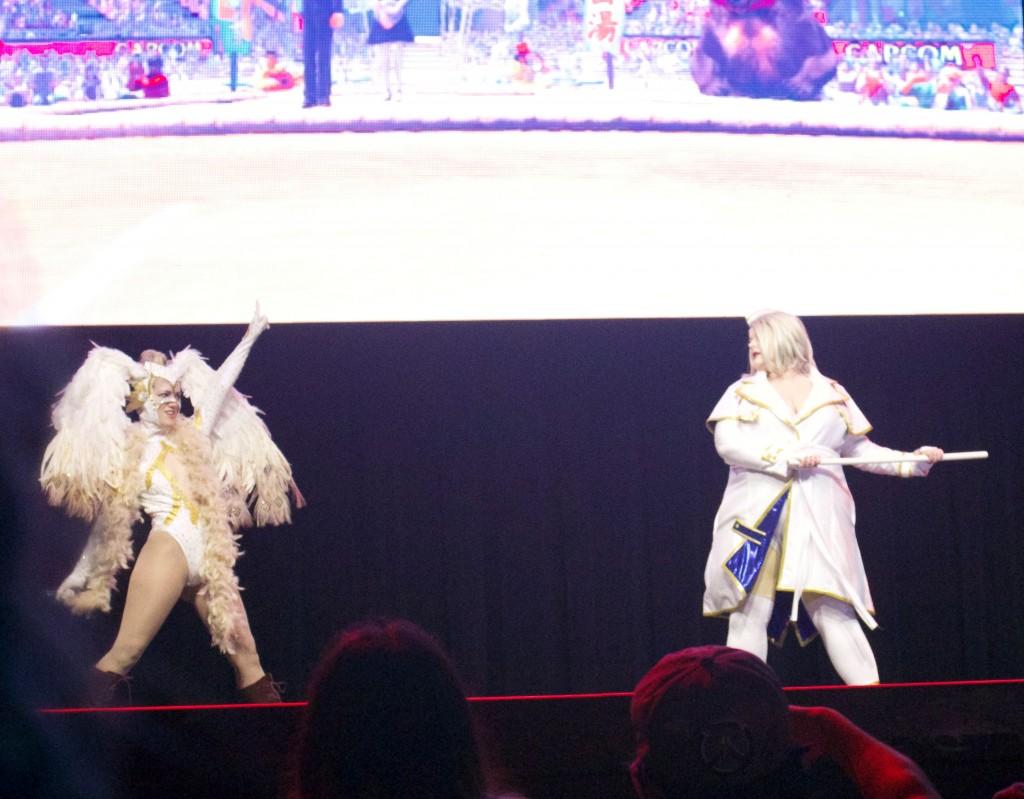 Anime Expo Street Fighter Ultimate Cosplay Showdown Rainbow Mika Jessie Pridemore Falke SFV Default 02