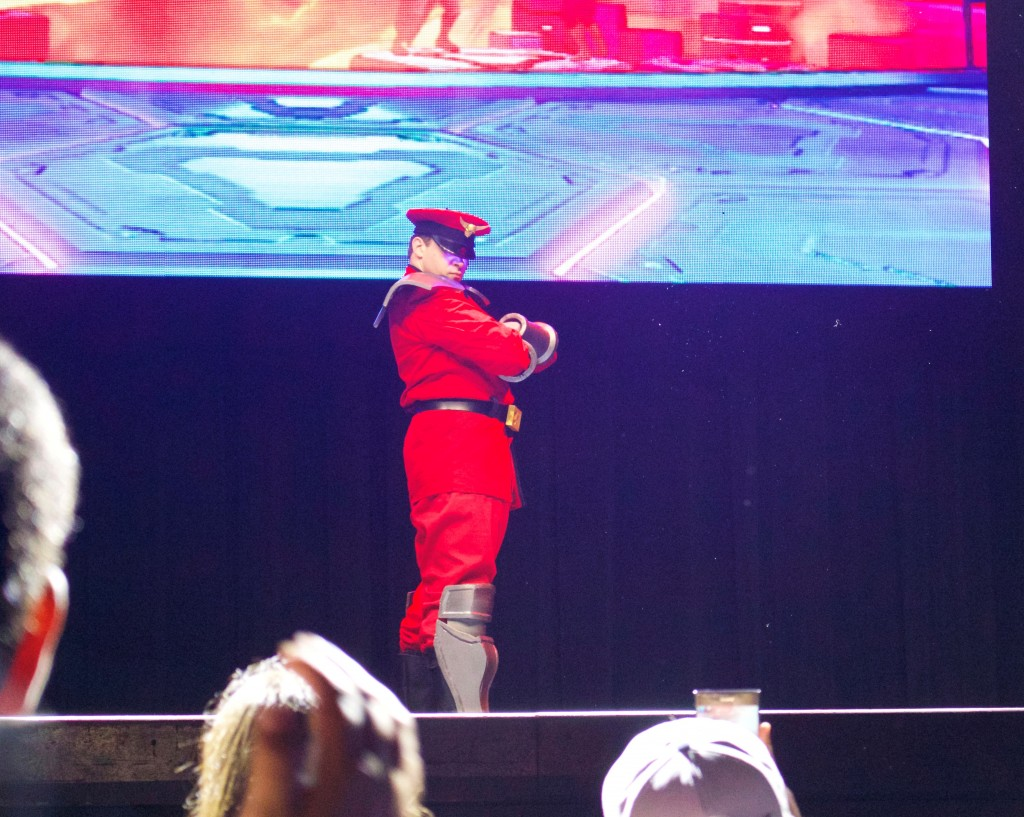 Anime Expo Street Fighter Ultimate Cosplay Showdown M. Bison Classic Costume