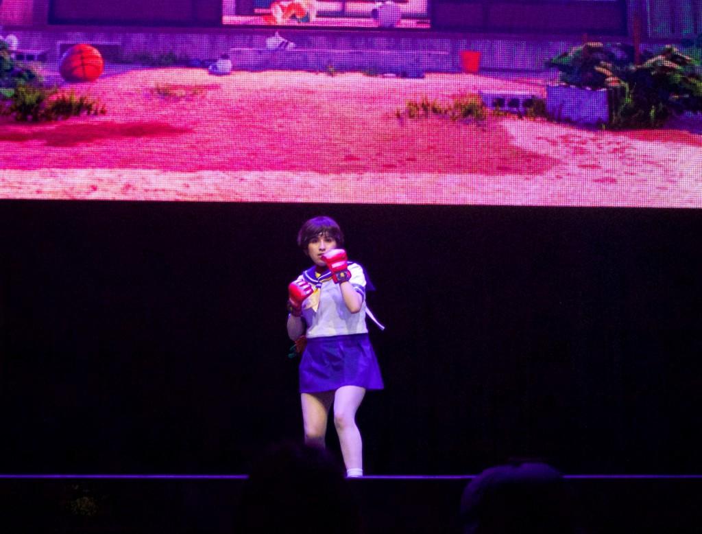 Anime Expo Street Fighter Ultimate Cosplay Showdown Sakura SFV Nostalgia Costume