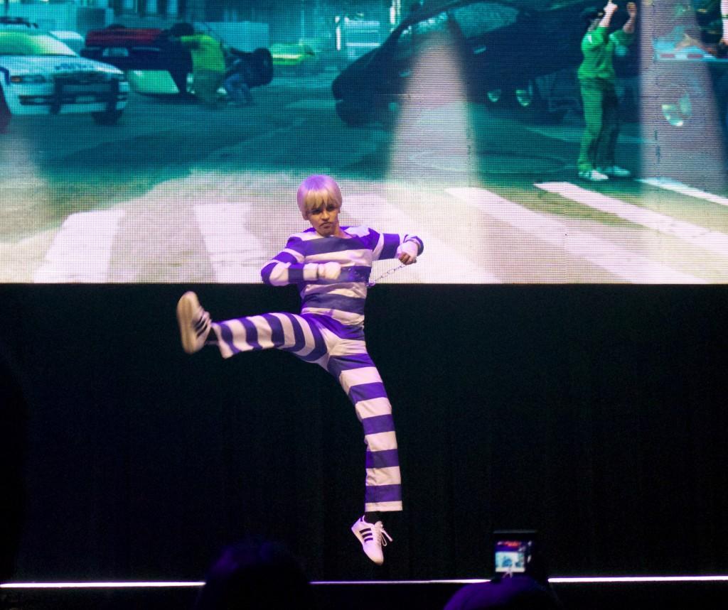 Anime Expo Street Fighter Ultimate Cosplay Showdown Cody SFV Nostalgia Costume
