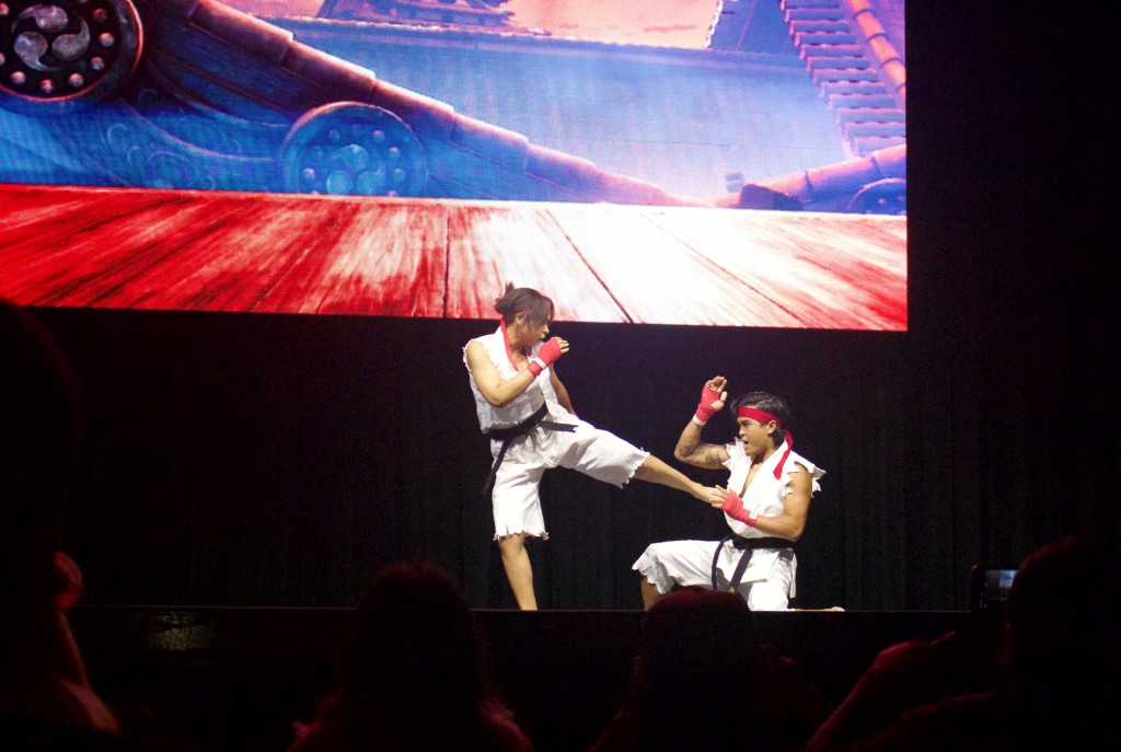 Anime Expo Street Fighter Ultimate Cosplay Showdown Ryu