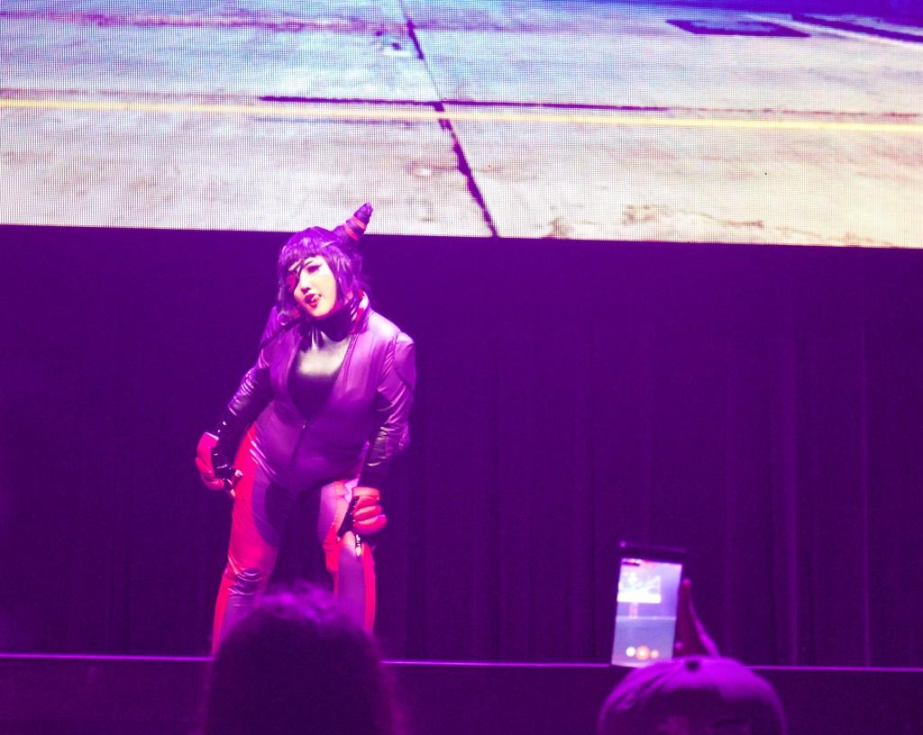 Anime Expo Street Fighter Ultimate Cosplay Showdown Juri SFV Default Costume