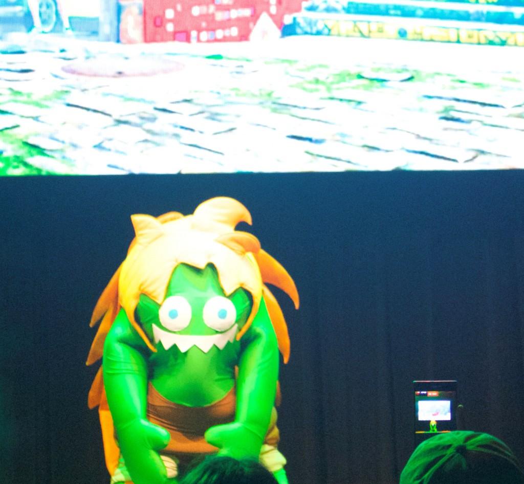 Anime Expo Street Fighter Ultimate Cosplay Showdown Blanka Chibi Story Costume