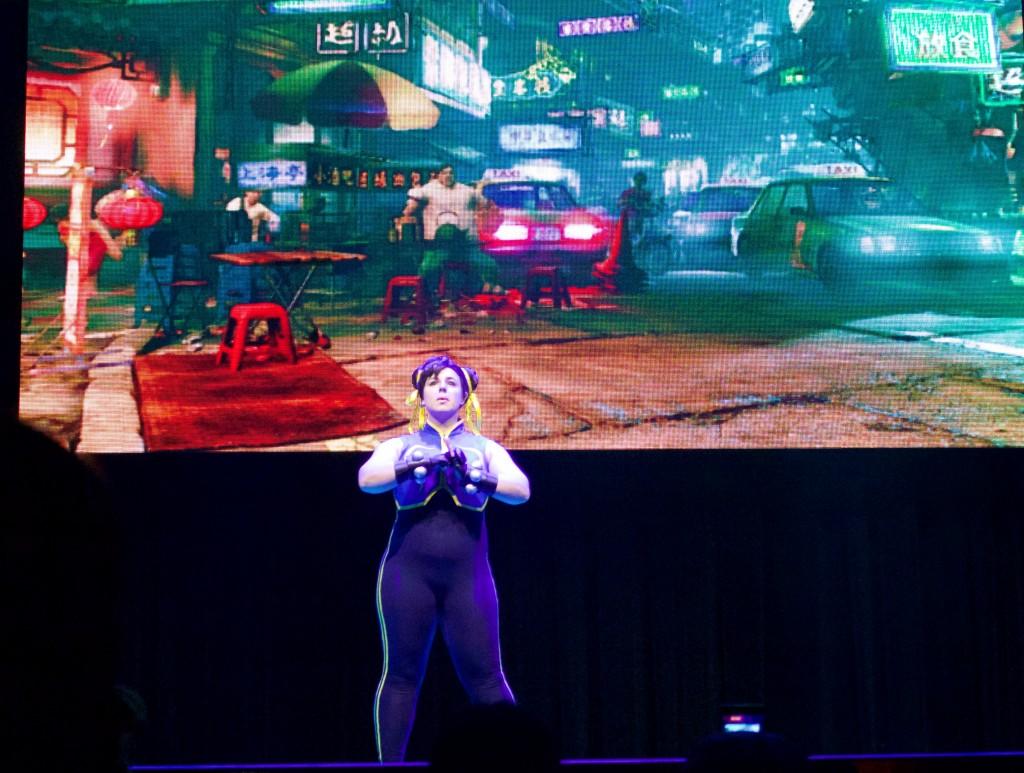 Anime Expo Street Fighter Ultimate Cosplay Showdown Chun Li SFV Nostalgia