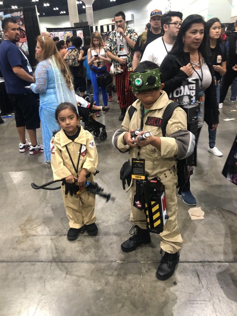 Los Angeles Comic Con Cosplay Recap Ghostbusters