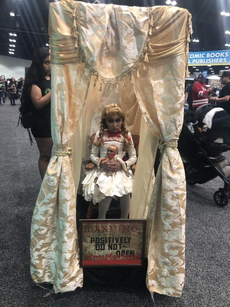 Los Angeles Comic Con Cosplay Recap Annabelle