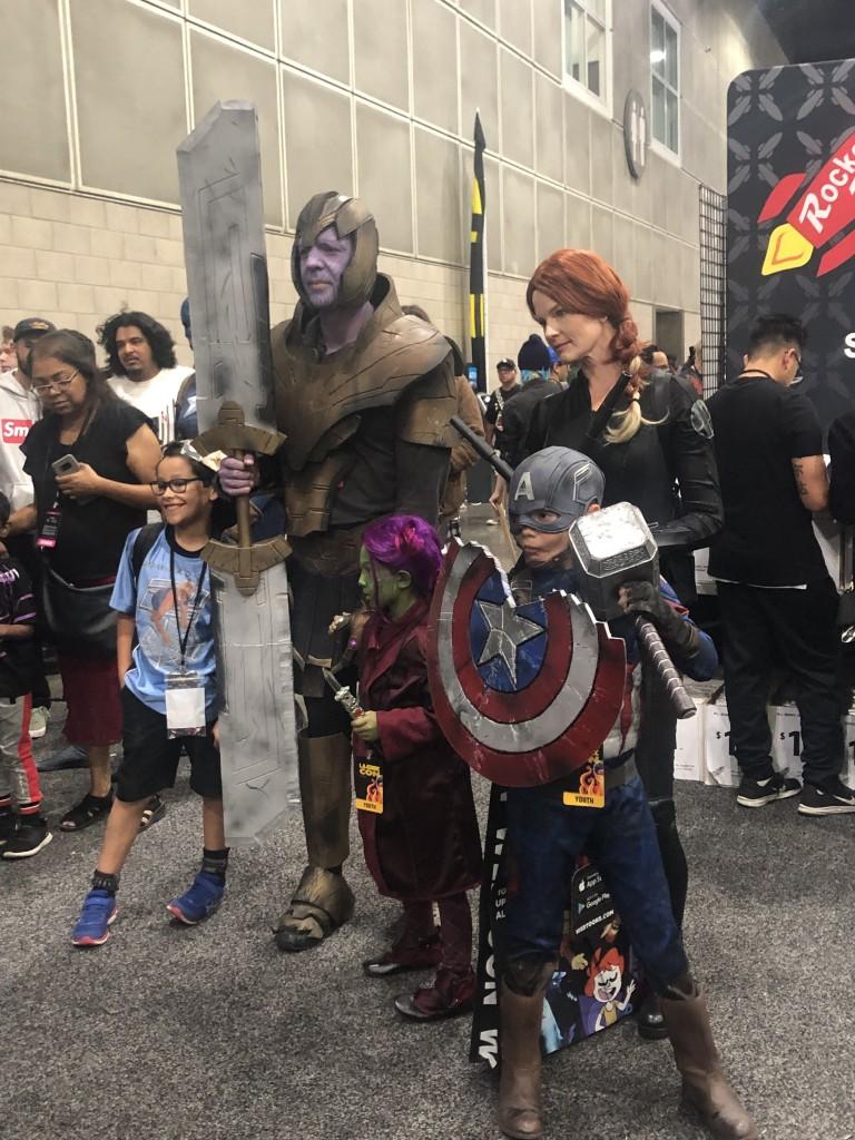 Los Angeles Comic Con Cosplay Recap Avengers Endgame