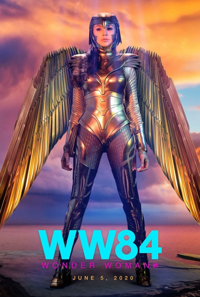 New Wonder Woman 1984 Posters