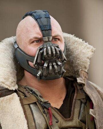 Bane DIY Costume Face Mask