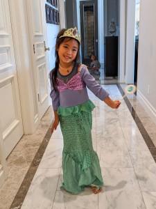 Quarantined Costume Fashion Show The Little Mermaid Ariel