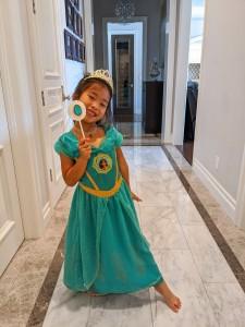Quarantined Costume Fashion Show Princess Jasmine
