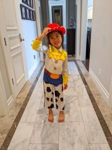 Quarantined Costume Fashion Show Toy Story Jessie