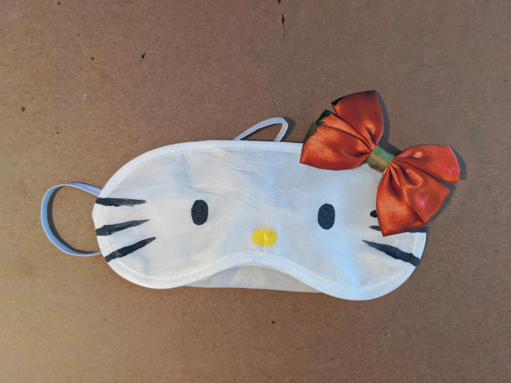 diy kids Character Sleep Masks hello kitty 2