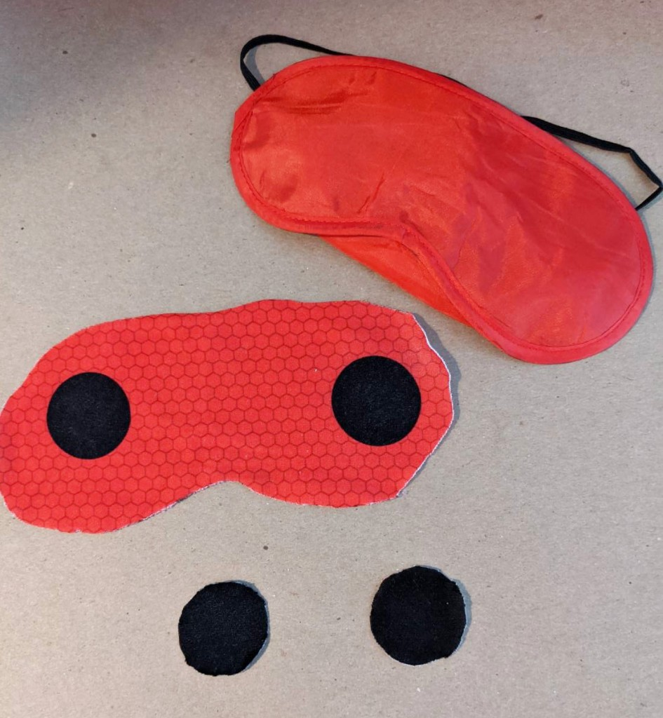 diy kids Character Sleep Masks miraculous ladybug 1