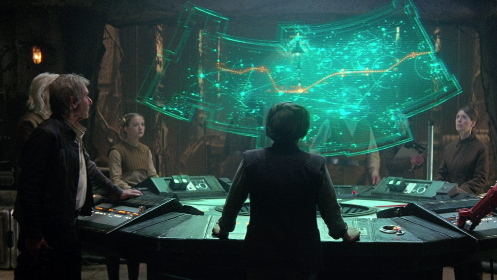 quarantined Star Wars characters force-awakens-han-solo-general-leia-map-to-luke