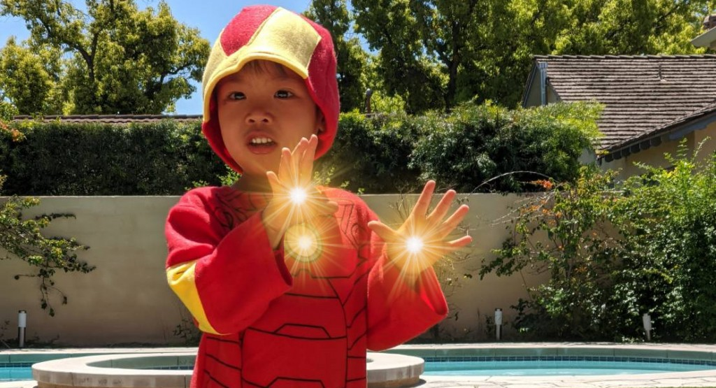 iron man hands Kids Superhero Powers