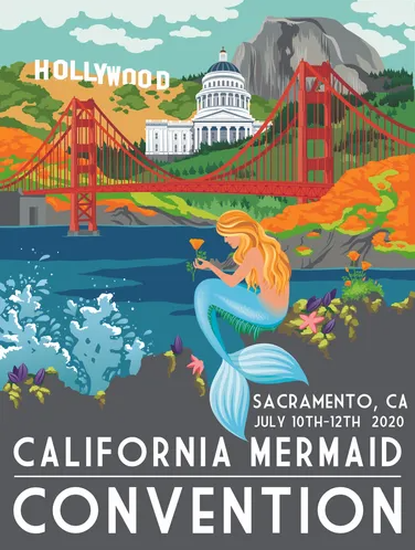 July 2020 Los Angeles Costume Events california mermaid convention