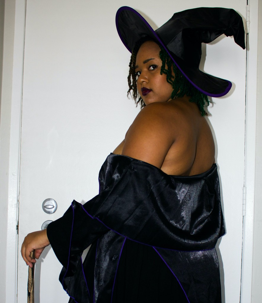 spellbound witch costume upcycle