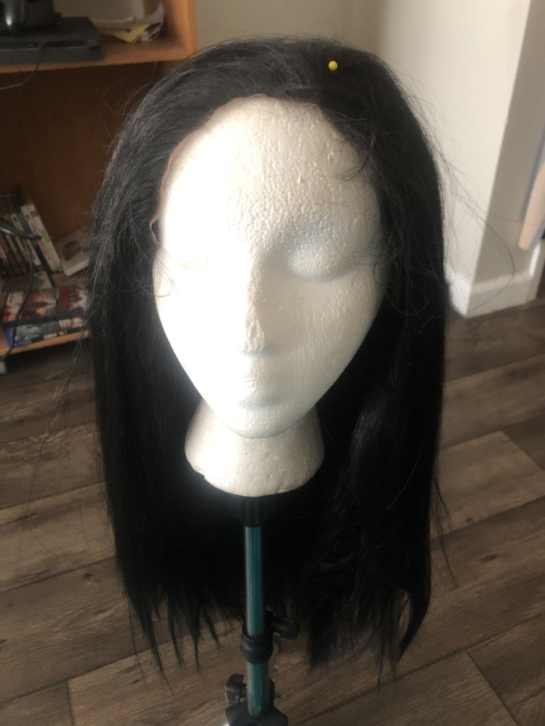 diy bride of frankenstein wig