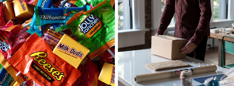Halloween Social Distancing care-package