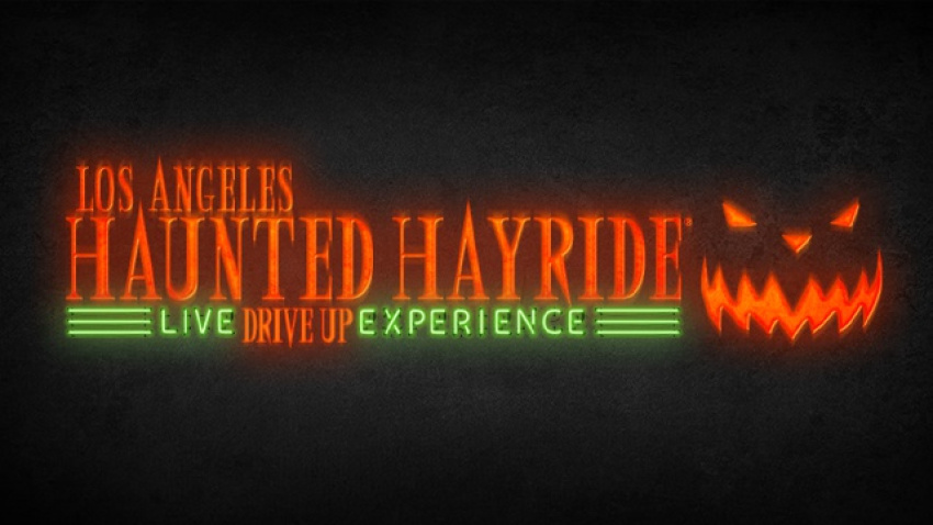drive-thru Halloween events lahauntedhayridedriveup