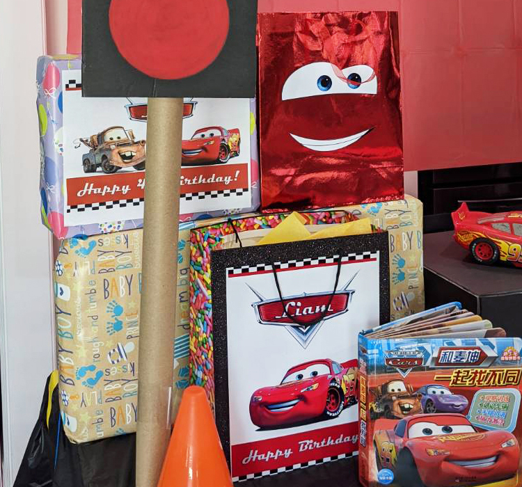 Disney Cars Party gifts-bags