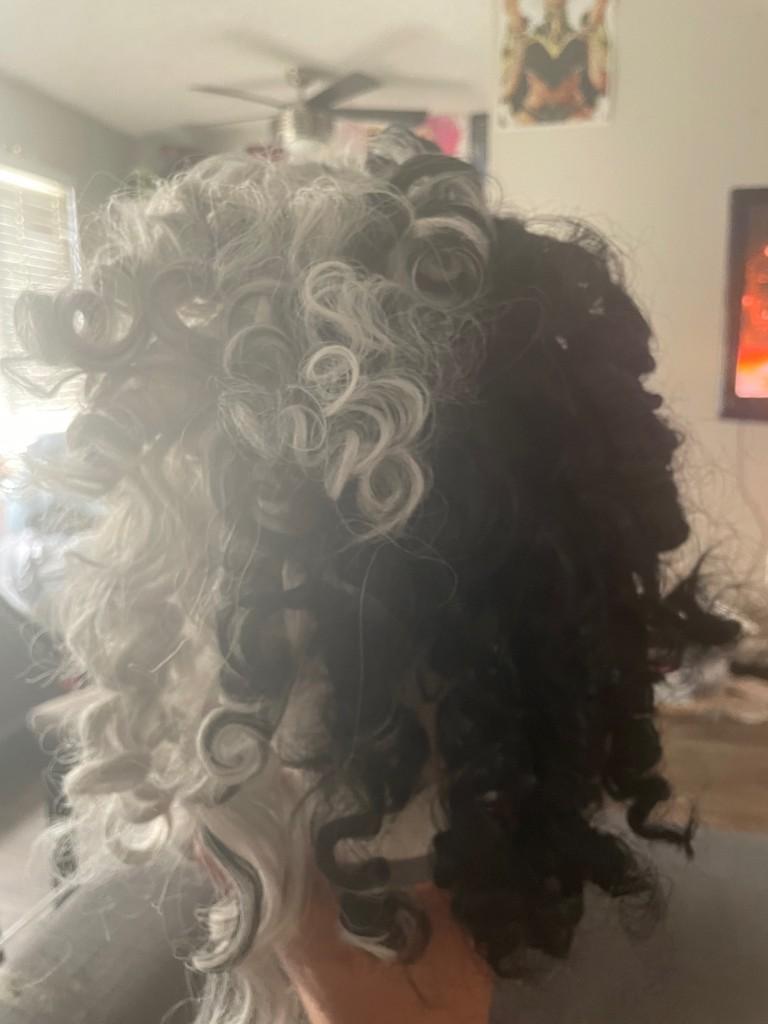 cruella de vil wig