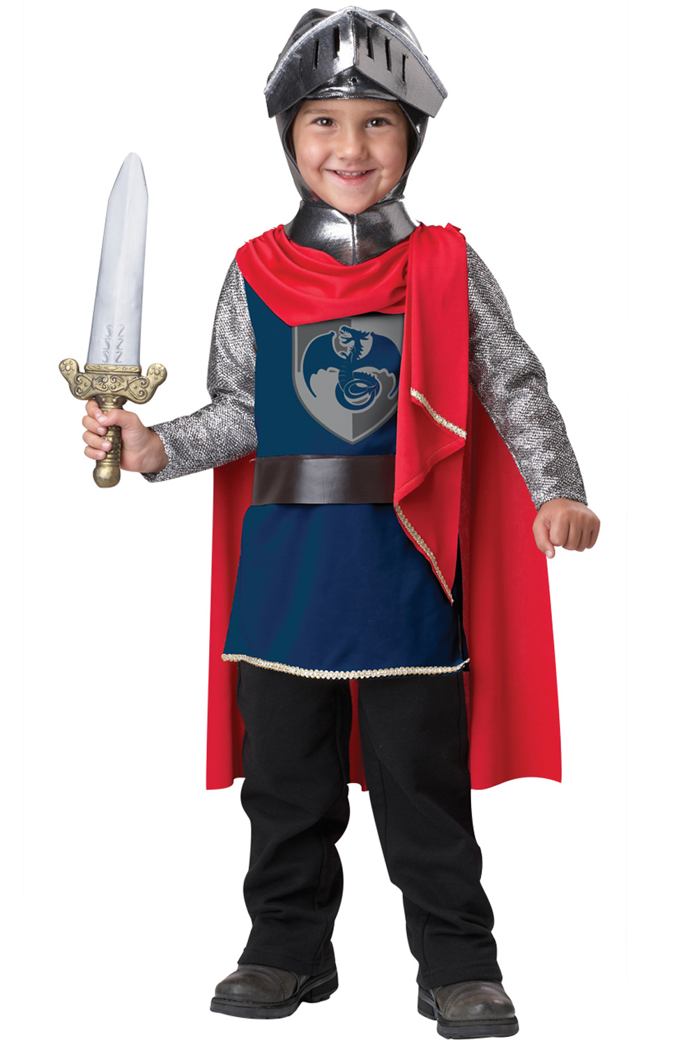 Gallant Knight Toddler Costume - Pure Costumes
