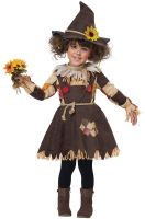 Pumpkin Patch Scarecrow Toddler Costume
