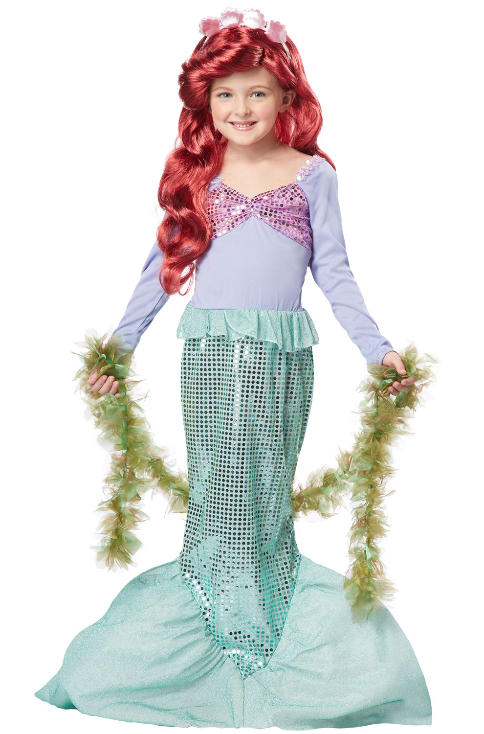 little mermaid child costume. Black Bedroom Furniture Sets. Home Design Ideas