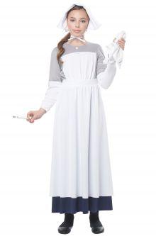 Home School Historical Costumes American Civil War Nurse Child Costume